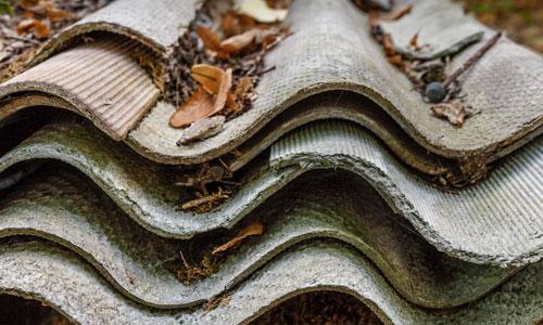 What does asbestos look like? Dangerous asbestos sheets